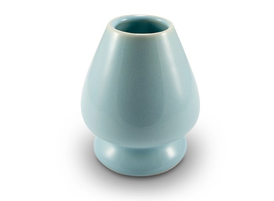 Celadon Blue Whisk Holder